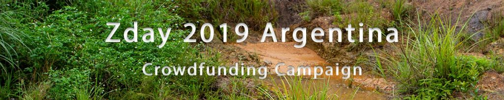 Zday 2019 Argentina Crowdfunding campaign